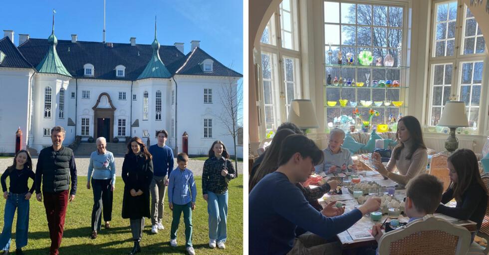 Drottning Margrethe firar påsk på Marselisborgs slott