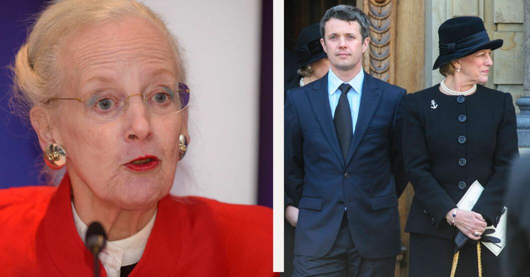 Drottning Margrethe och drottning Anne-Marie