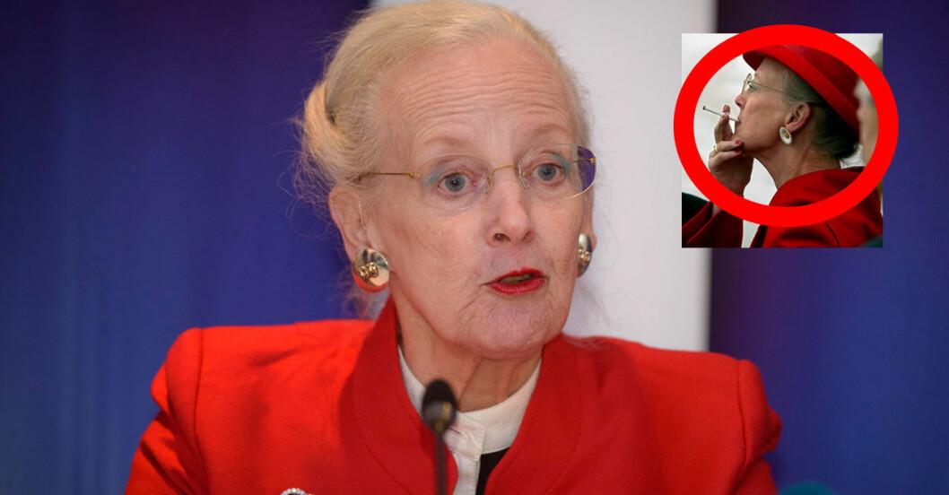 Drottning Margrethe har rökt i sex decennier.