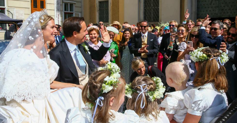 Prinsessan Maria-Annunciata och Emanuele Musini.