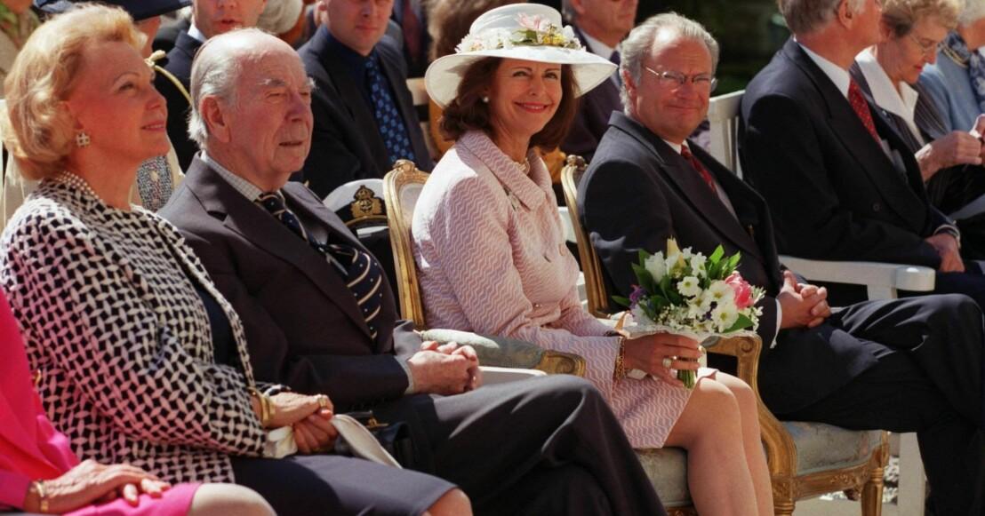 Marianne Bernadotte Sigvard Bernadotte Prins Sigvard Drottning Silvia Kungen Kung Carl Gustaf