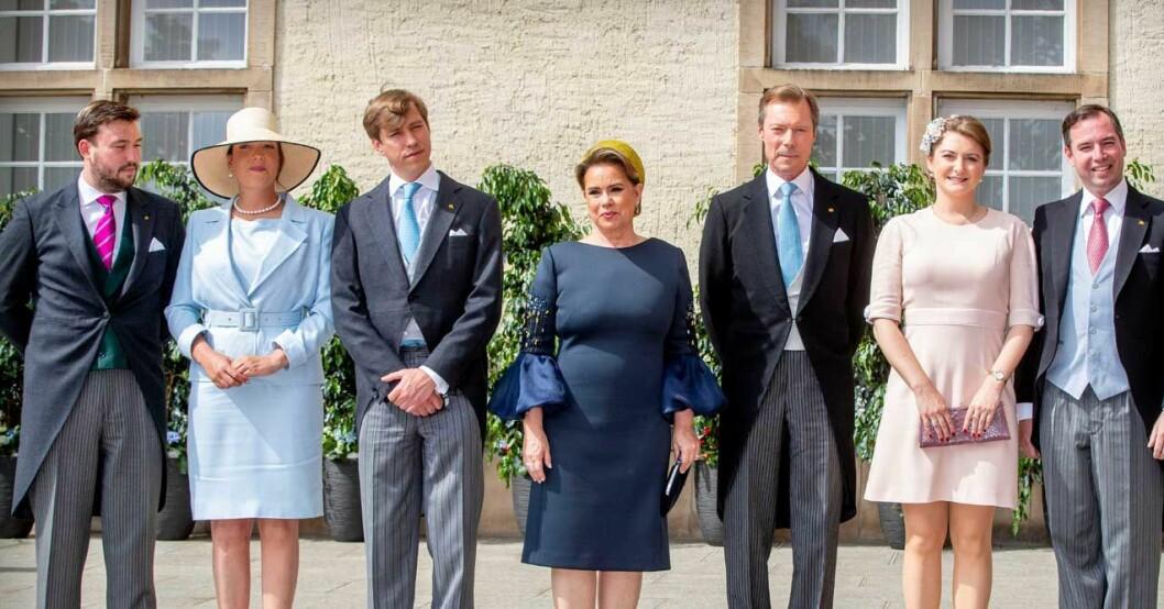Maria Teresa, Henri och deras familj.