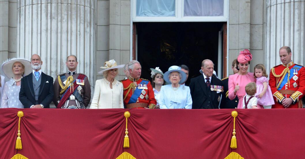 Prinsessan Marie Christine med brittiska kungafamiljen