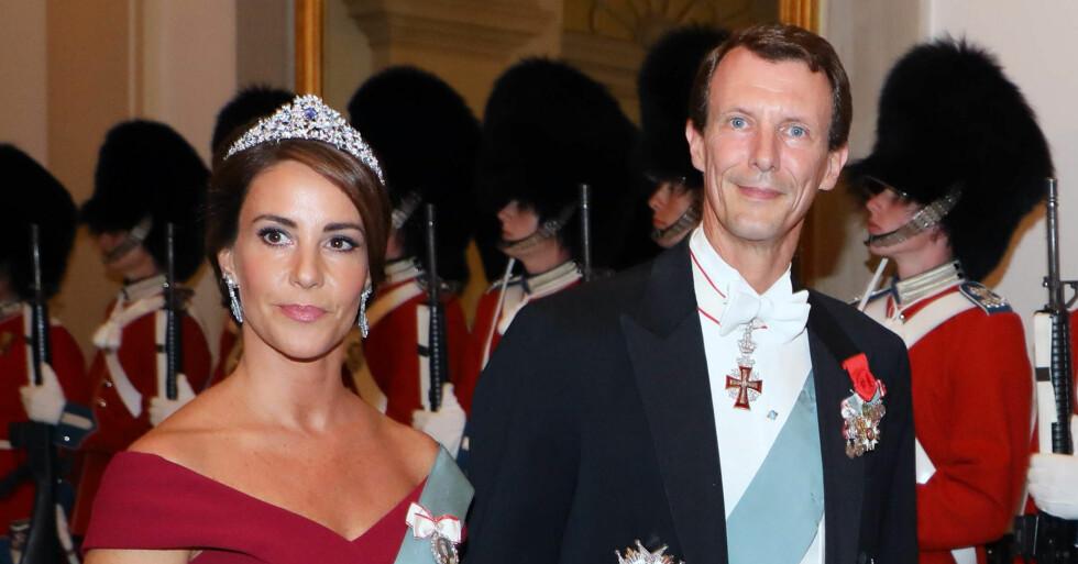 Prins Joachim Stroke Prinsessan Marie