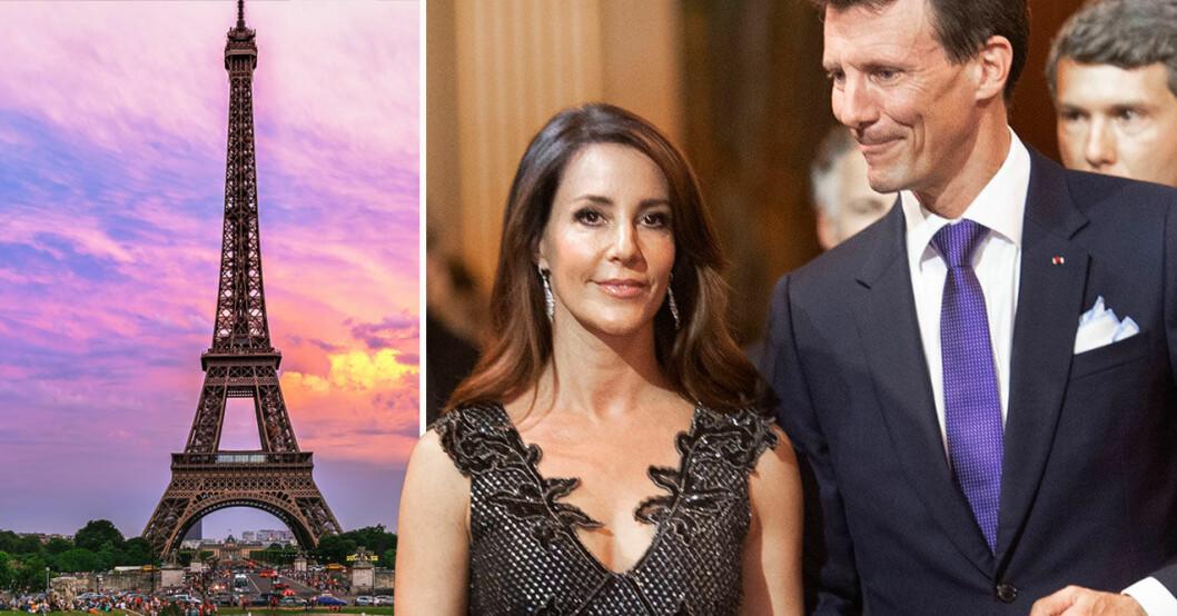Prinsessan Marie och prins Joachim i Paris