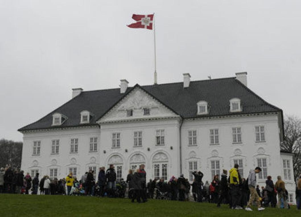 Slottet Marselisborg drabbades av inbrott.