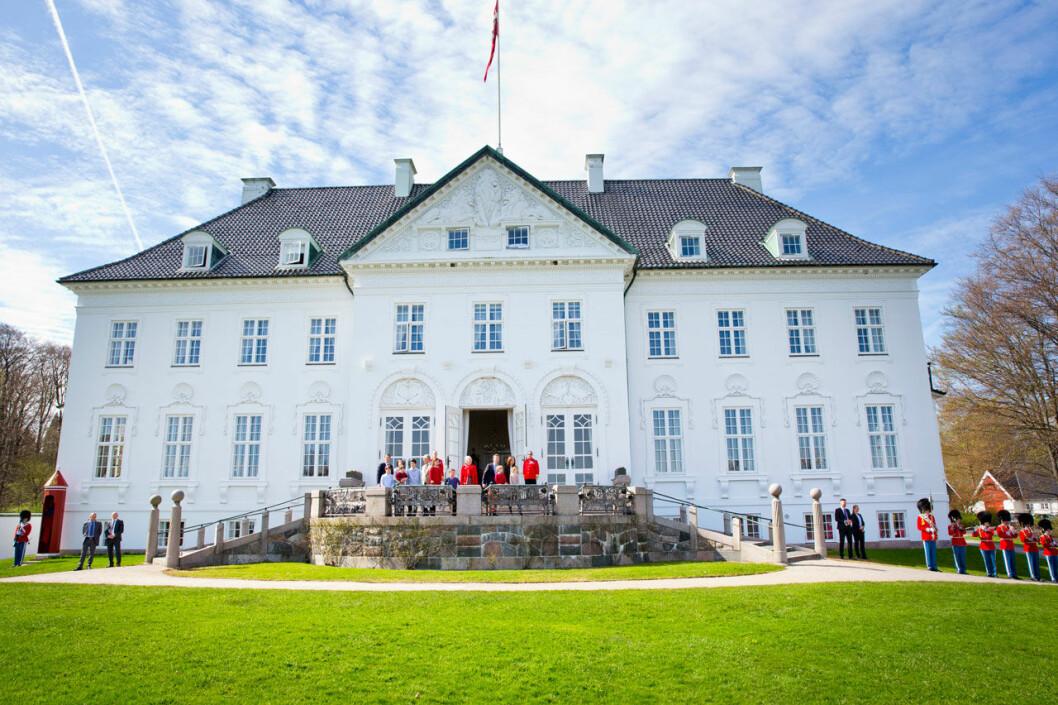 Marselisborgs slott utanför Aarhus.
