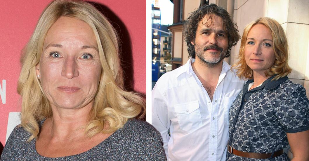 Martina Haag var gift med Erik Haag, som i dag lever med Lotta Lundgren