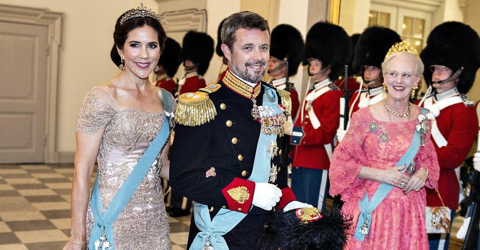 Kronprinsessan Mary Kronprins Frederik Drottning Margrethe