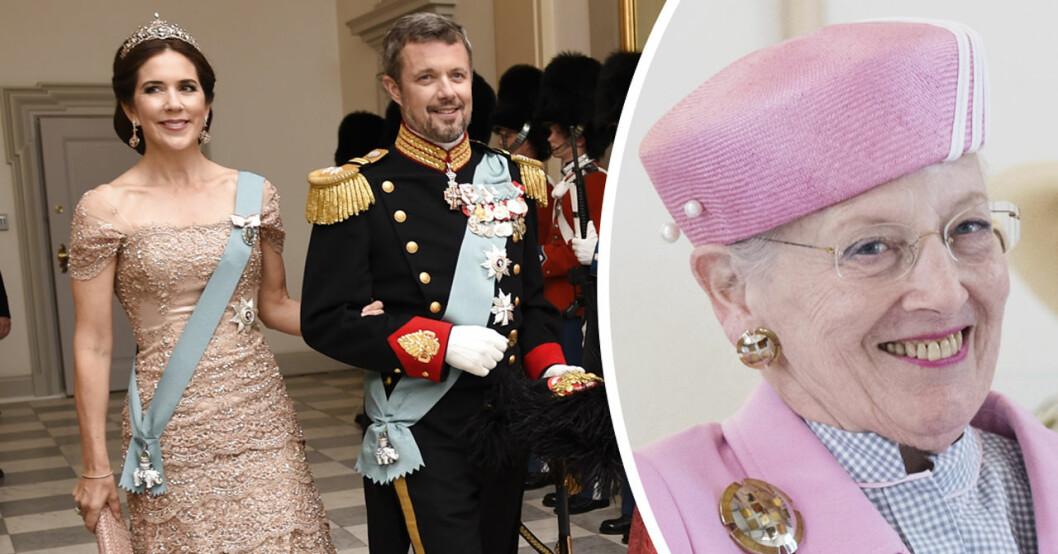 drottning margrethe kronprinsessan mary
