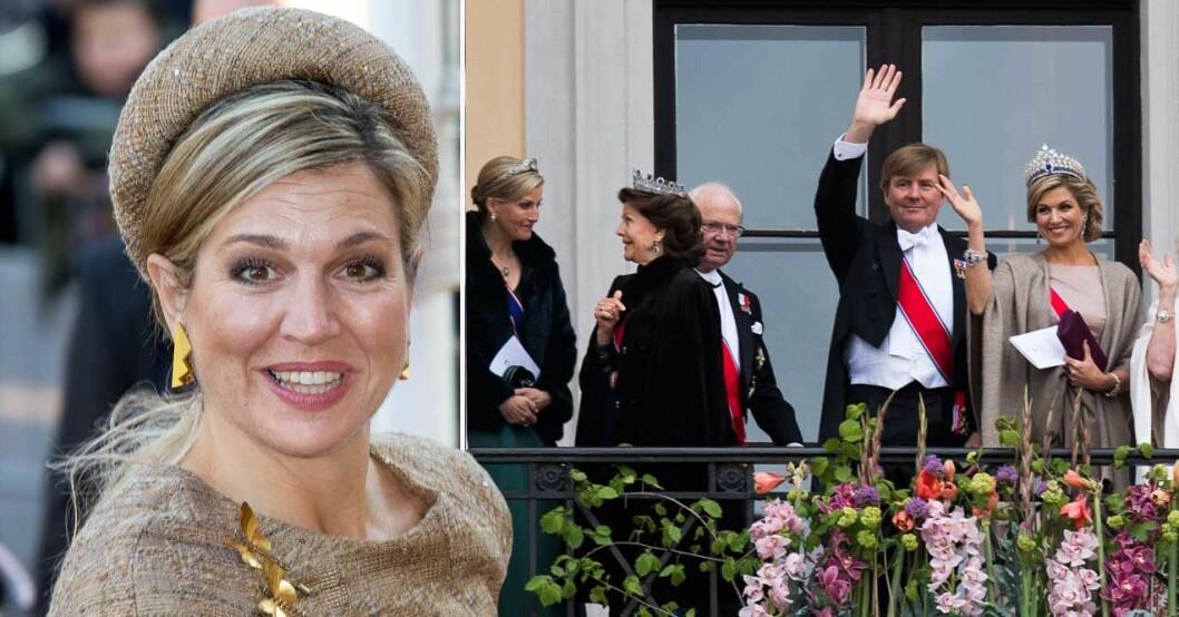 drottning máxima ger sin in i den politiska debatten