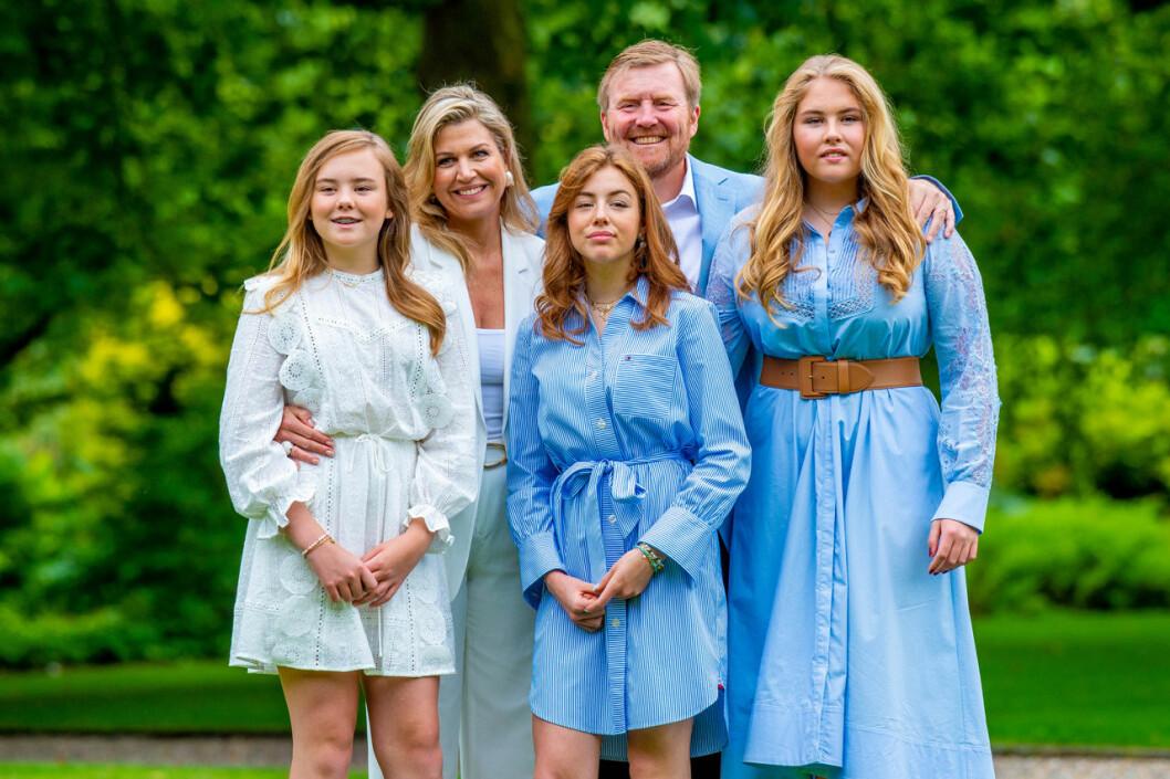 Nederländska kungafamiljen