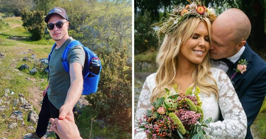 """Maxine Nordlindh och Emil Nygren från """"Gift vid första ögonkastet"""" väntar sitt första barn."""