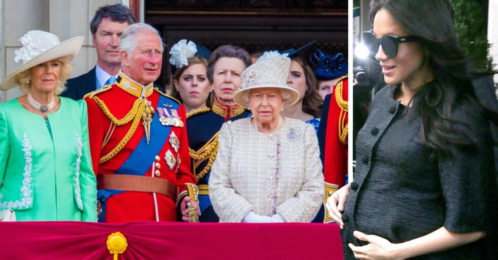 Meghan Markle Brittiska kungafamiljen