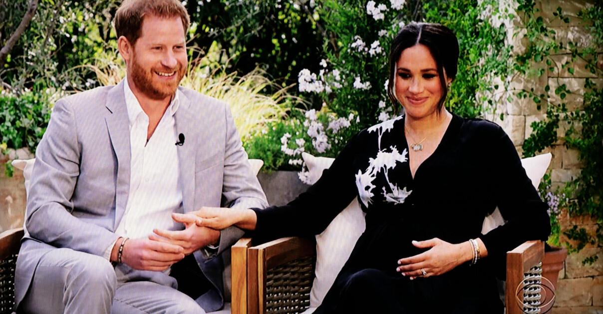 Prins Harry Meghan Markle Intervju Oprah Winfrey