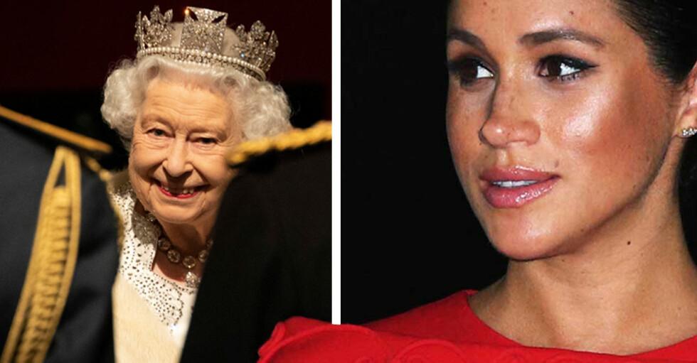 Drottning Elizabeth Meghan Markle