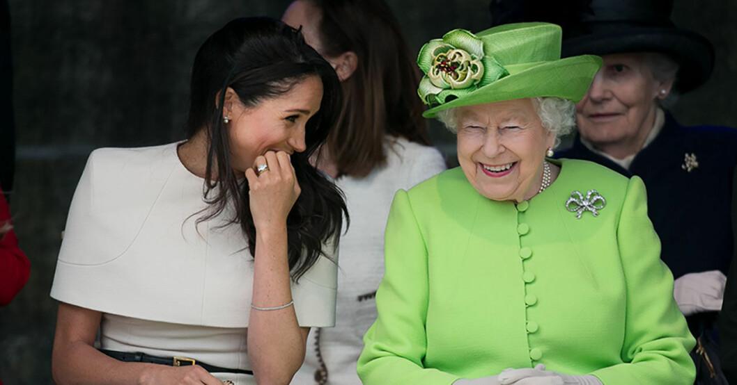 meghan drottning elizabeth