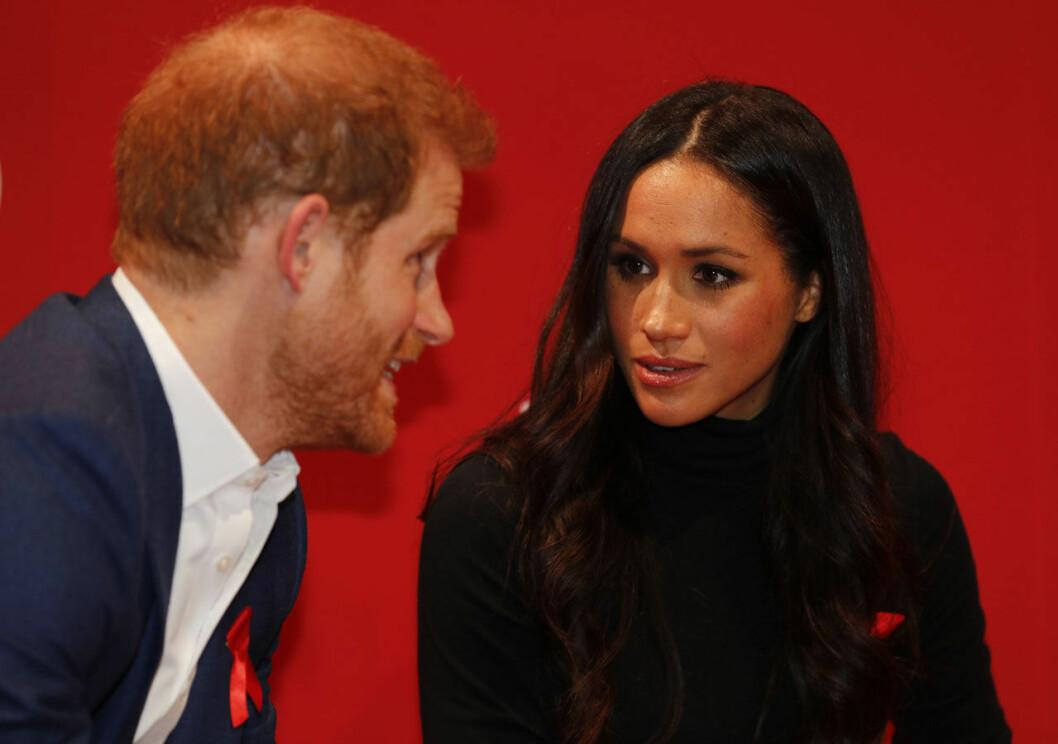 Hertiginnan Meghan Markle och prins Harry