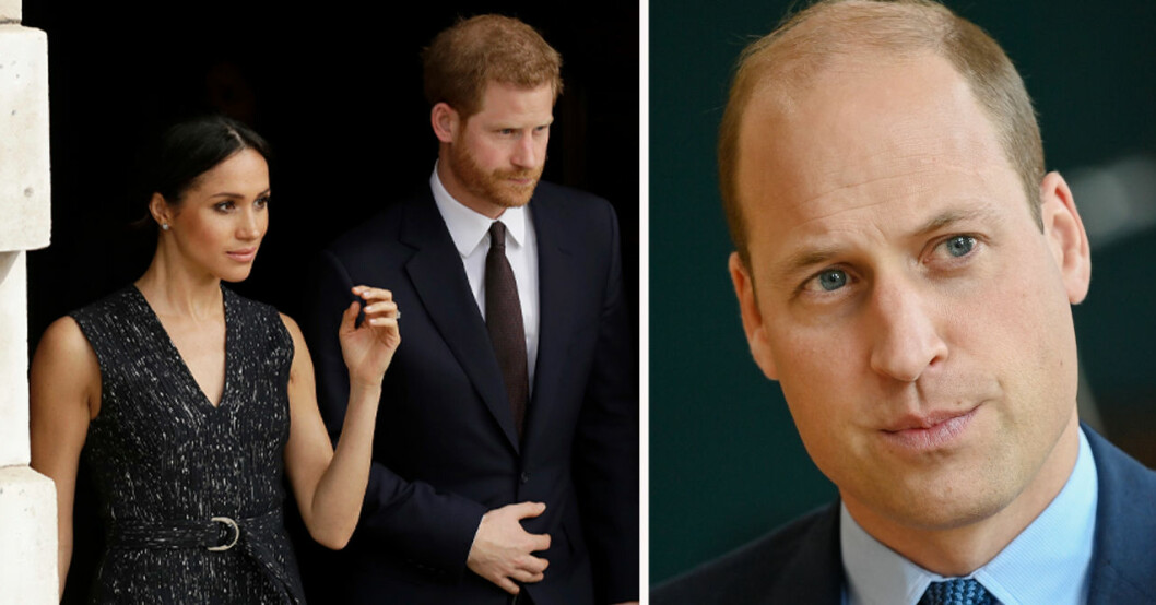 Meghan Markle, prins Harry och prin William