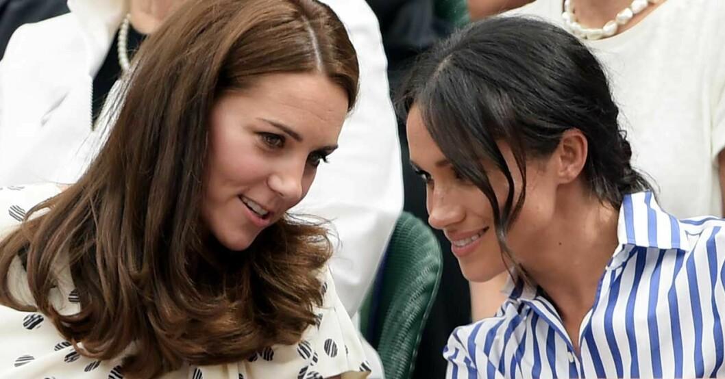 Meghan Markle och Kate Middleton