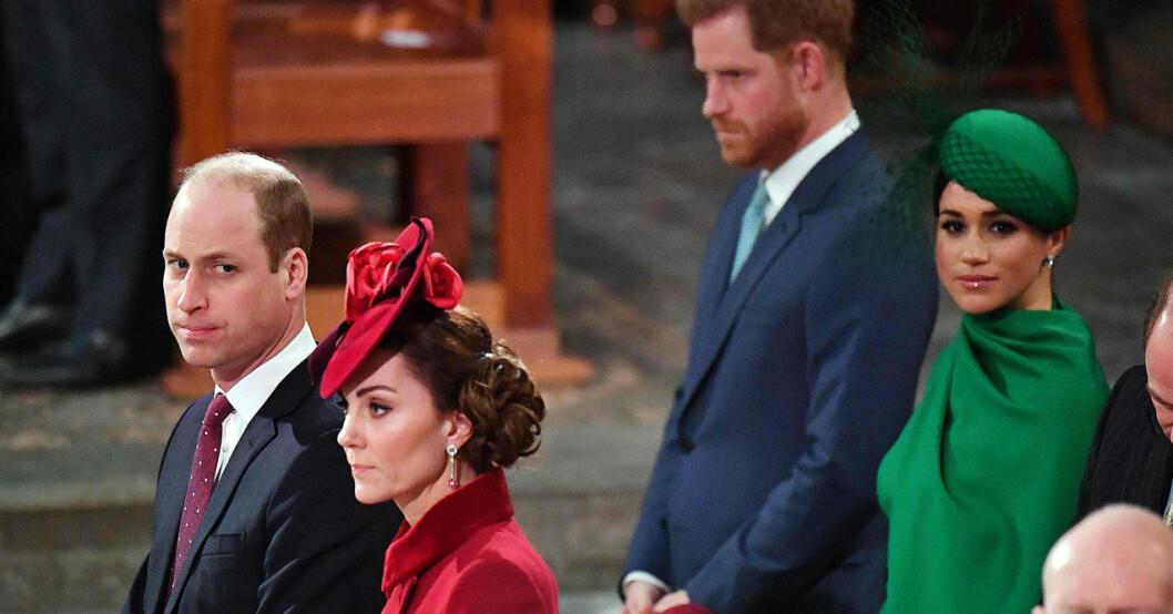 Meghan och prins Harry sista uppdraget, träffar Kate och William