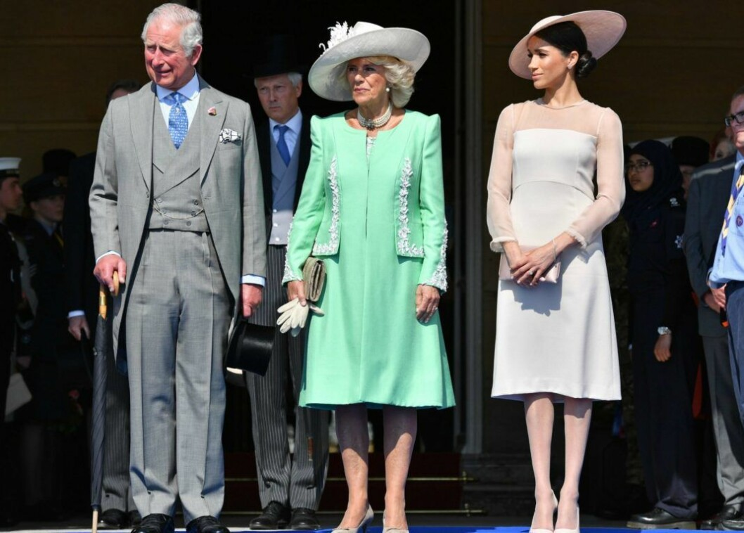 De kungliga tebjudningarna på Buckingham Palace jättelika gräsmatta är en kunglig klassiker.