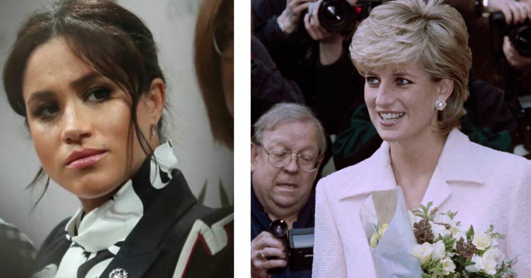 Meghan och Diana – två starka kvinnor.