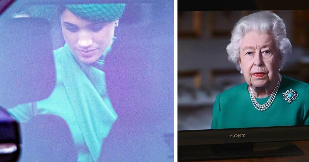Kan drottningen ha pikat Meghan i sitt tal?
