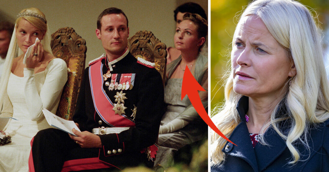 Kronprinsessan Mette-Marit, kronprins Haakon och Linda Tånevik