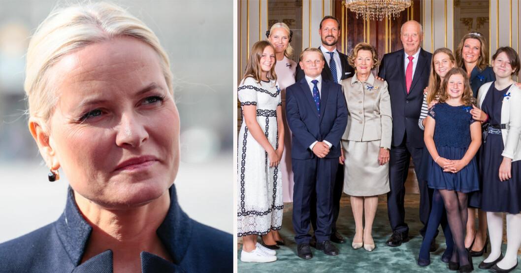 Mette-Marit och norska kungafamiljen