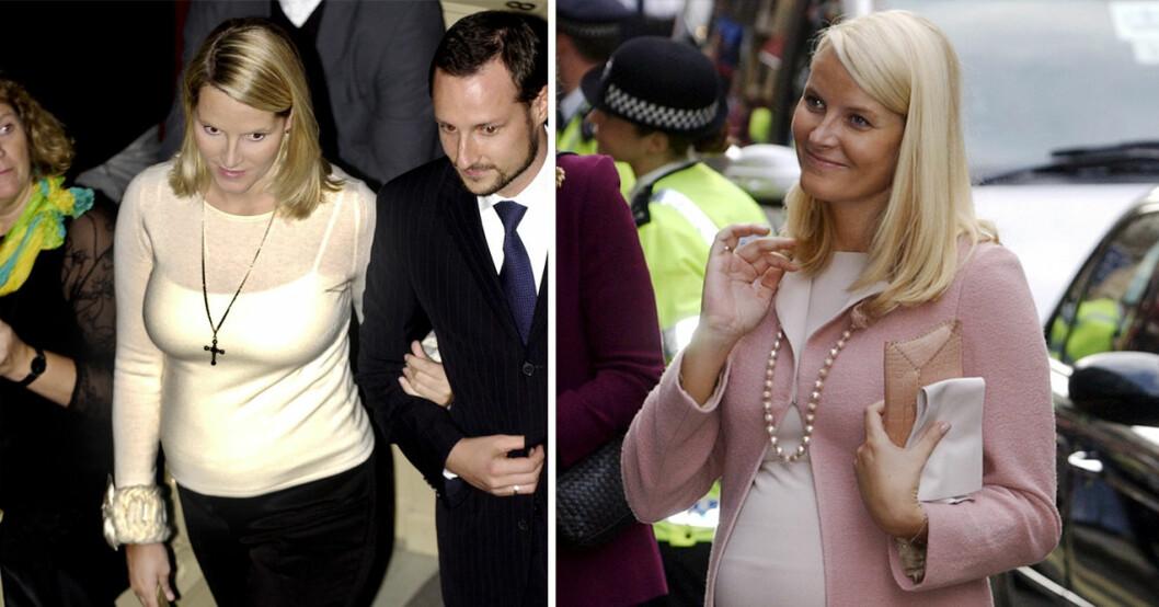 kronprinsessan mette-marit gravid 2005