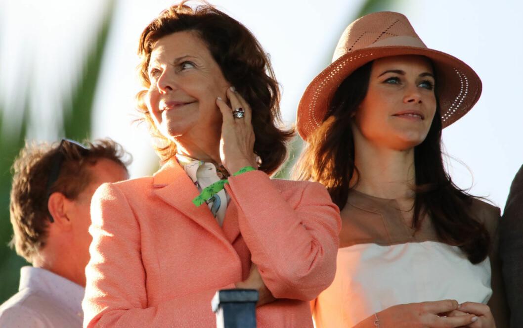 Silvia och Sofia i Miami, Florida.