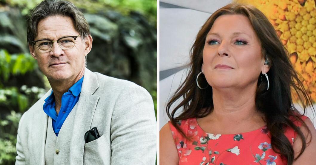 """Mikael """"Soldoktorn"""" Sandström och Lotta Engberg"""