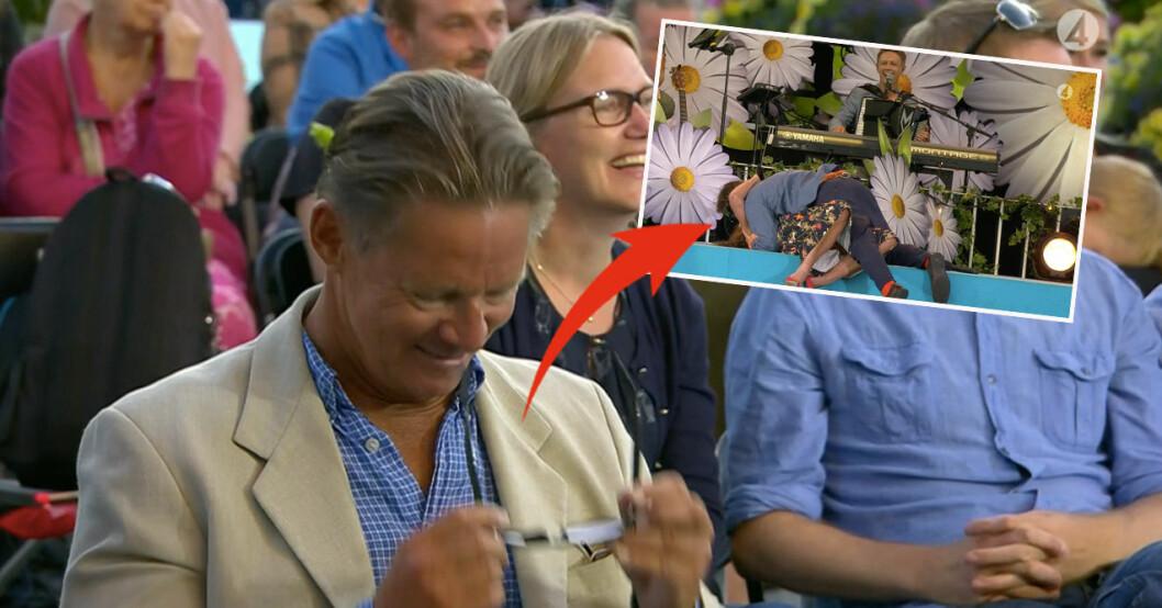 Mikael Sandström, Per Andersson och Lotta Engberg