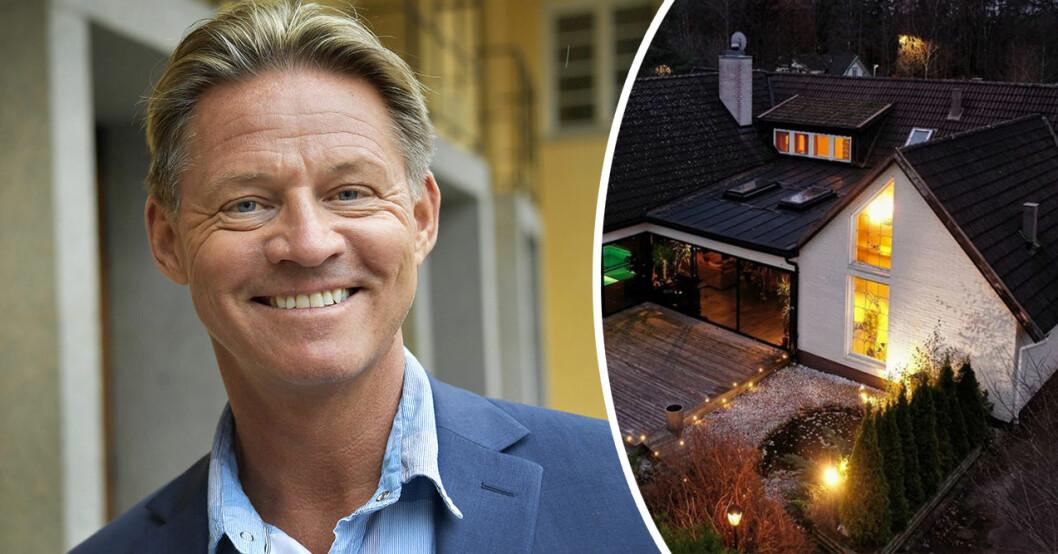 Mikael Sandström bodde i en Lyxvilla i Hallstahammar innan han flyttade ihop med kärleken Lotta Engberg.