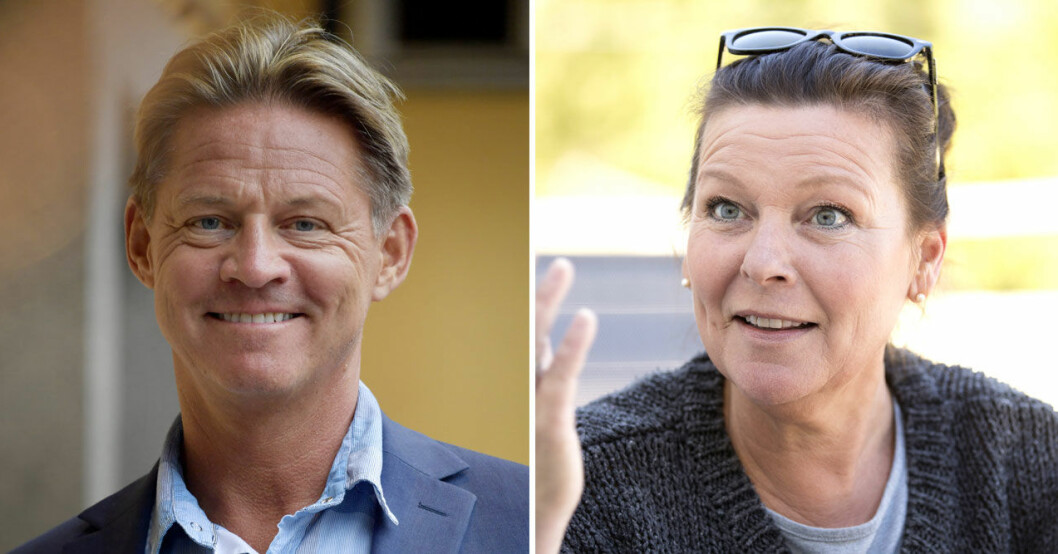 Mikael Soldoktorn Sandströms kärlekssemester med Lotta Engberg