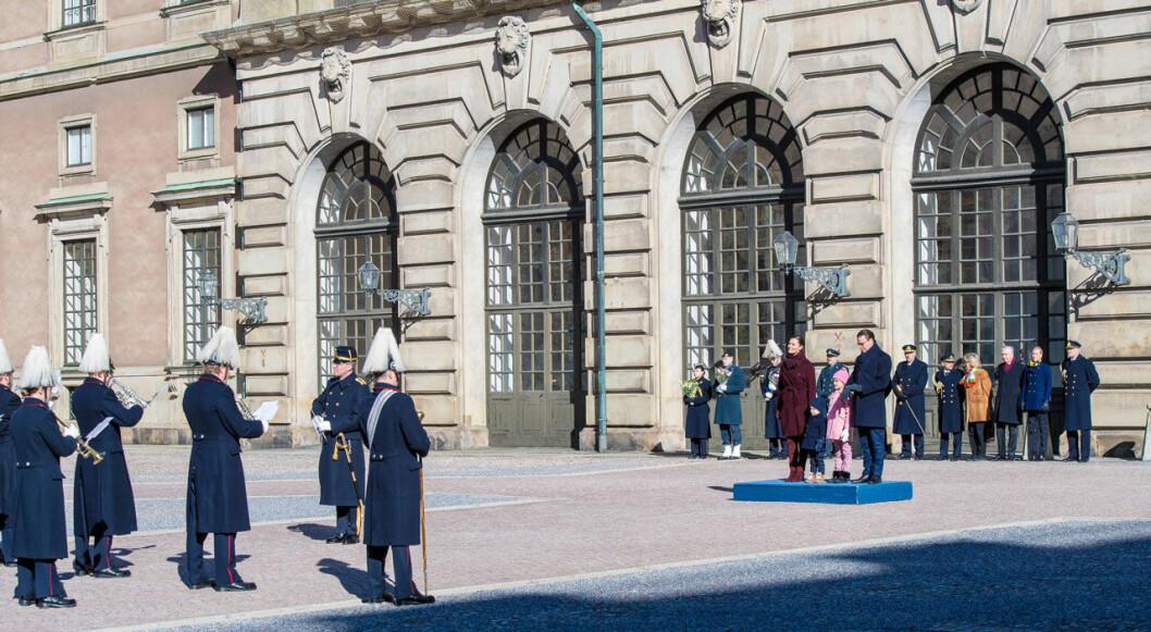 Kronprinsessan Victorias namnsdagsfirande på slottet 2019.