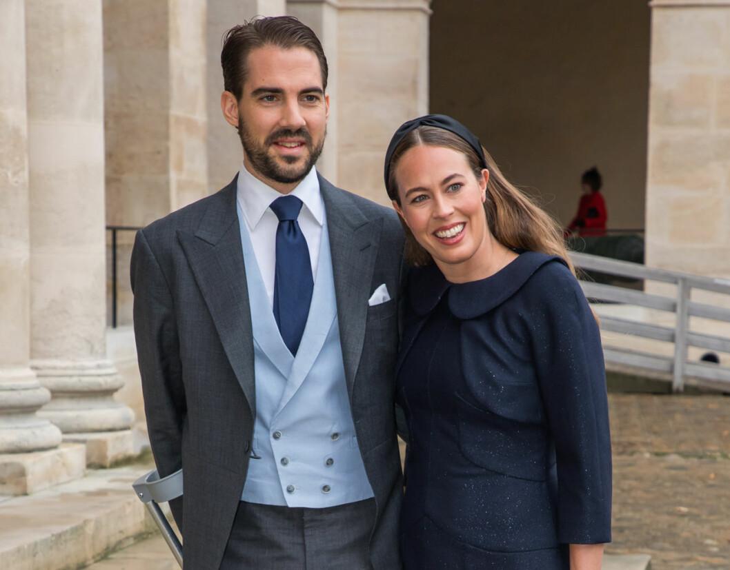 Prins Philippos och Nina Flohr.