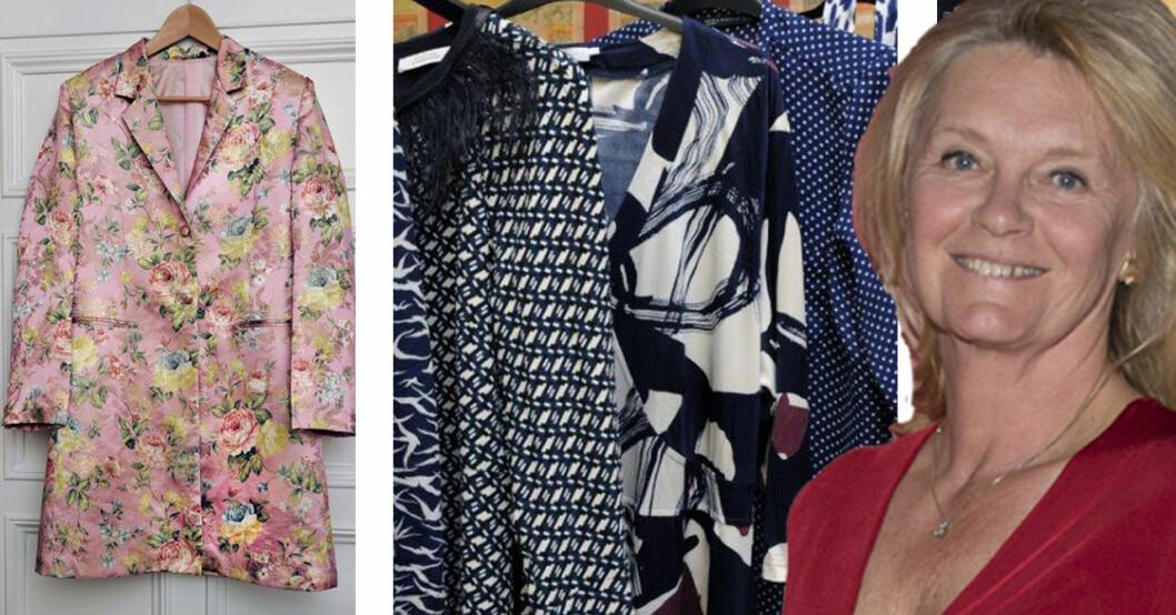 Nina von Krusenstierna visar upp sin garderob