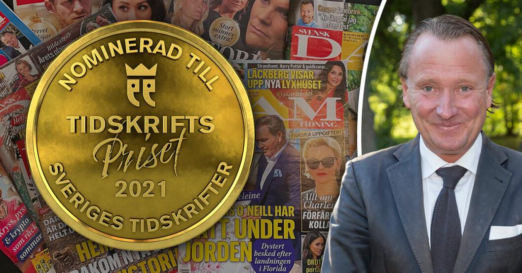 Svensk Damtidning nominerad till Årets tidsskrift populärpress