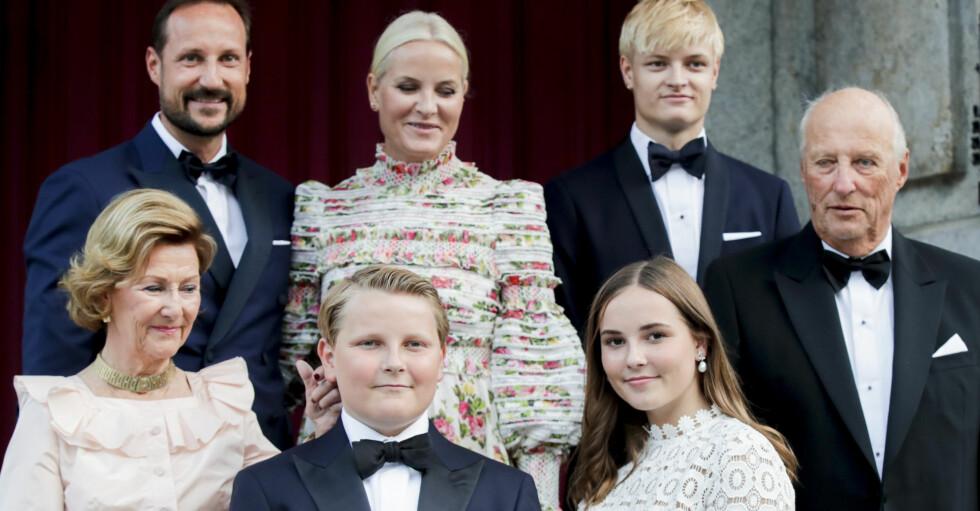 Norska kungafamiljen
