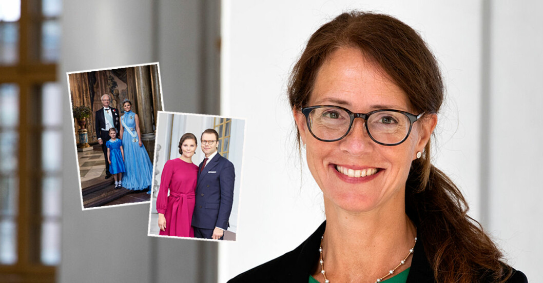 Hovmarskalk Lena Bartholdson om nya jobbet