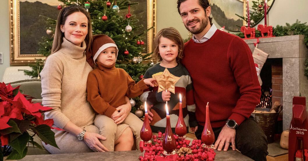 nya julfilmen på prinsessan Sofia och prins Carl Philip