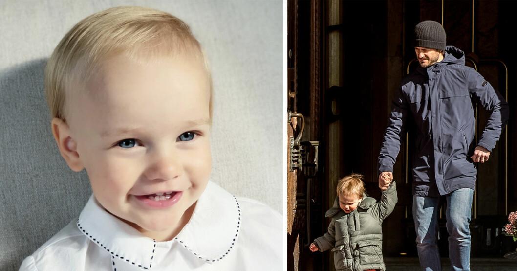 ny bild på prins gabriel