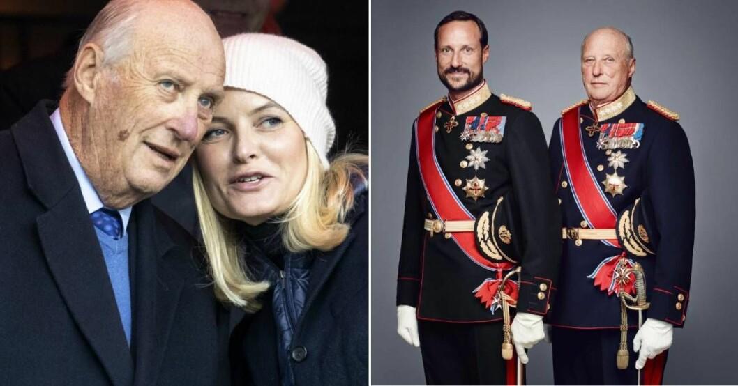 Kronprinsessan Mette-Marit och kung Haralds relation är förändrad
