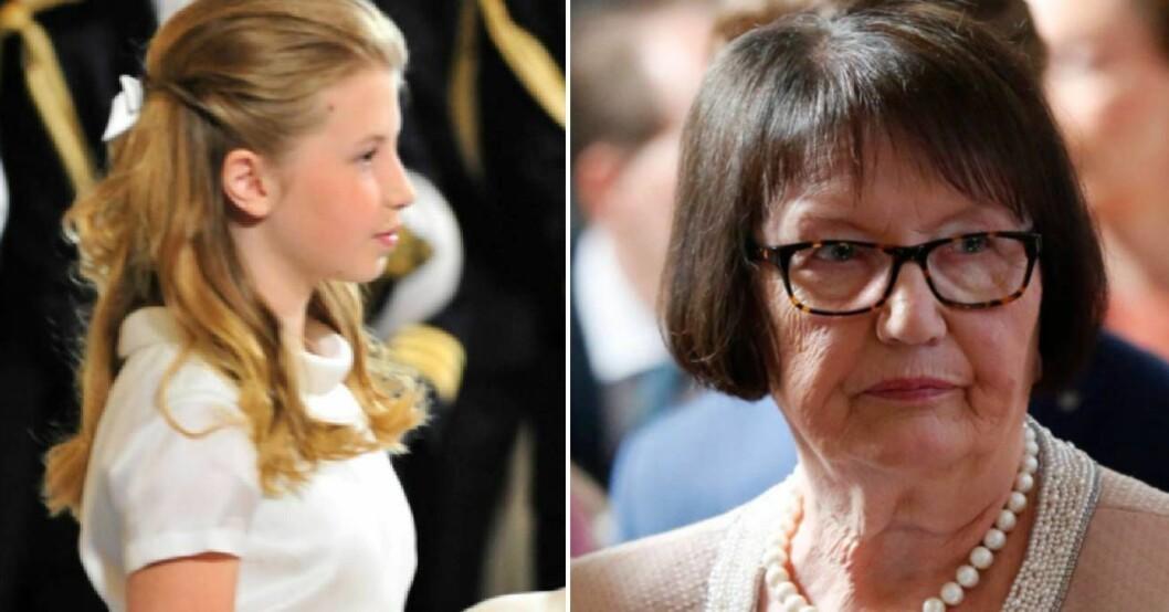 Ewa Westlings oro över barnbarnet Hedwig Bloms kommande bröllop med Viktor Söderström.