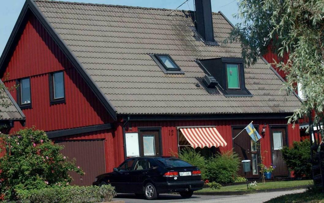 Daniels barndomshem i Ockelbo.