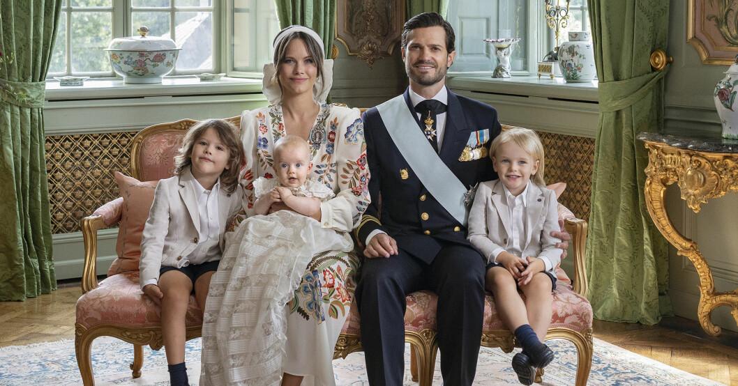 Prins Julian med familj