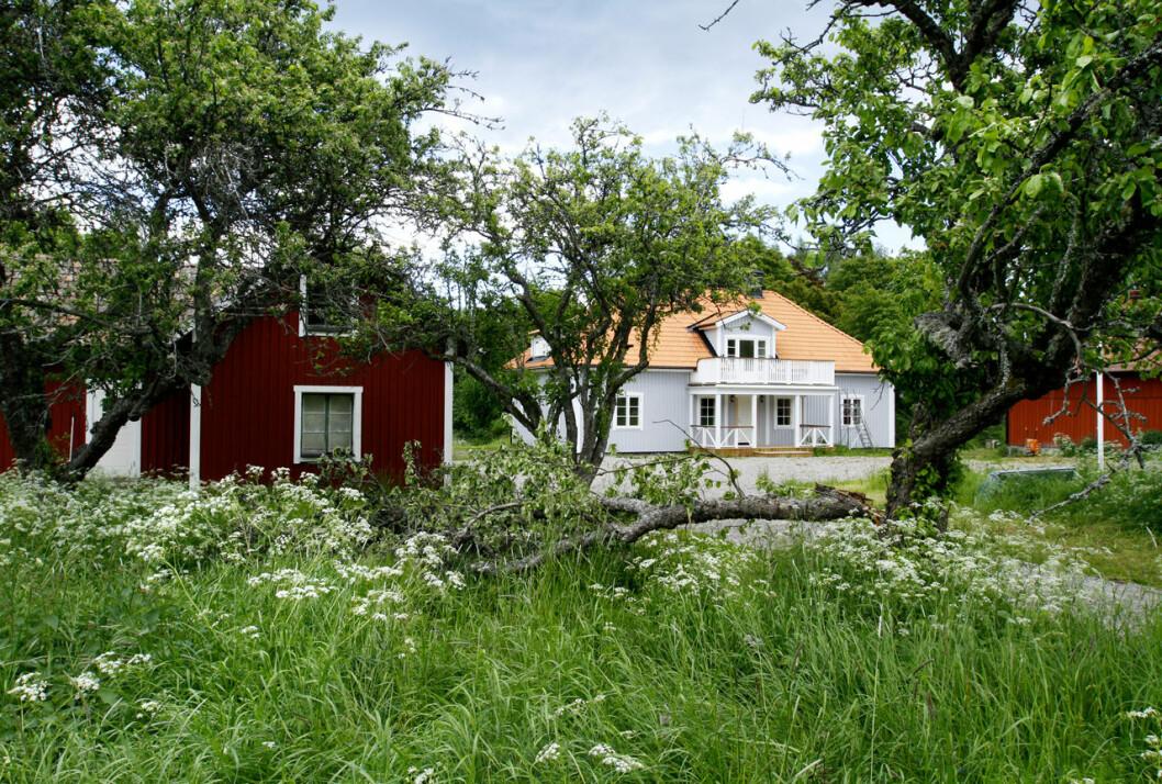 Prins Carl Philips och prinsessan Sofias Ökenäs gård i Sörmland