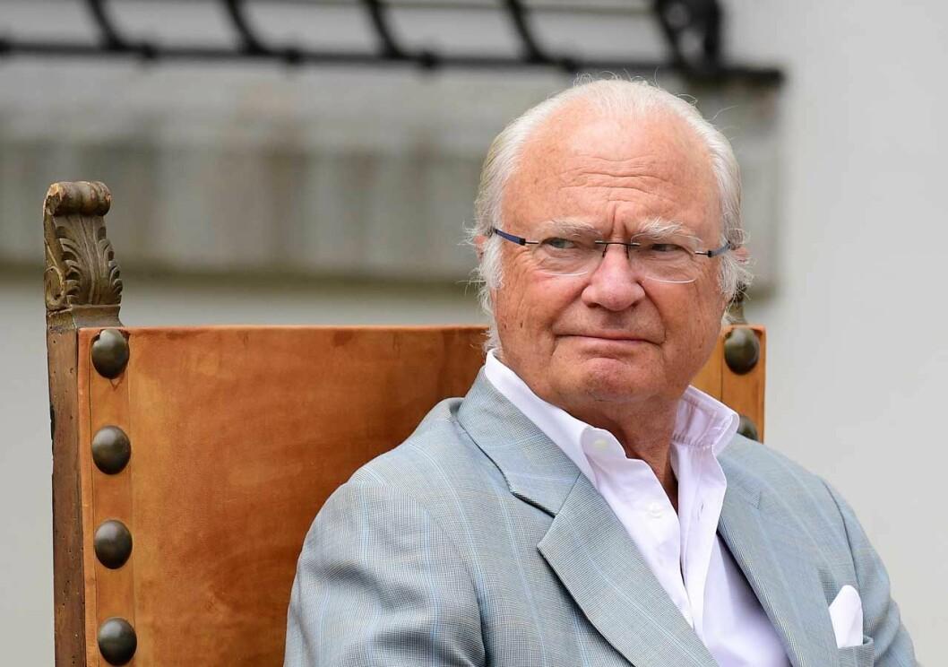 Kungen på Solliden under Årets Ölänning 2019.